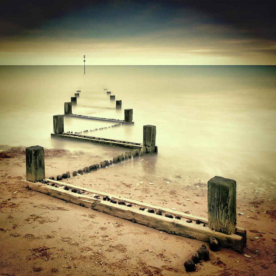 Beach Photograph - Beach Memories by Michael Oates