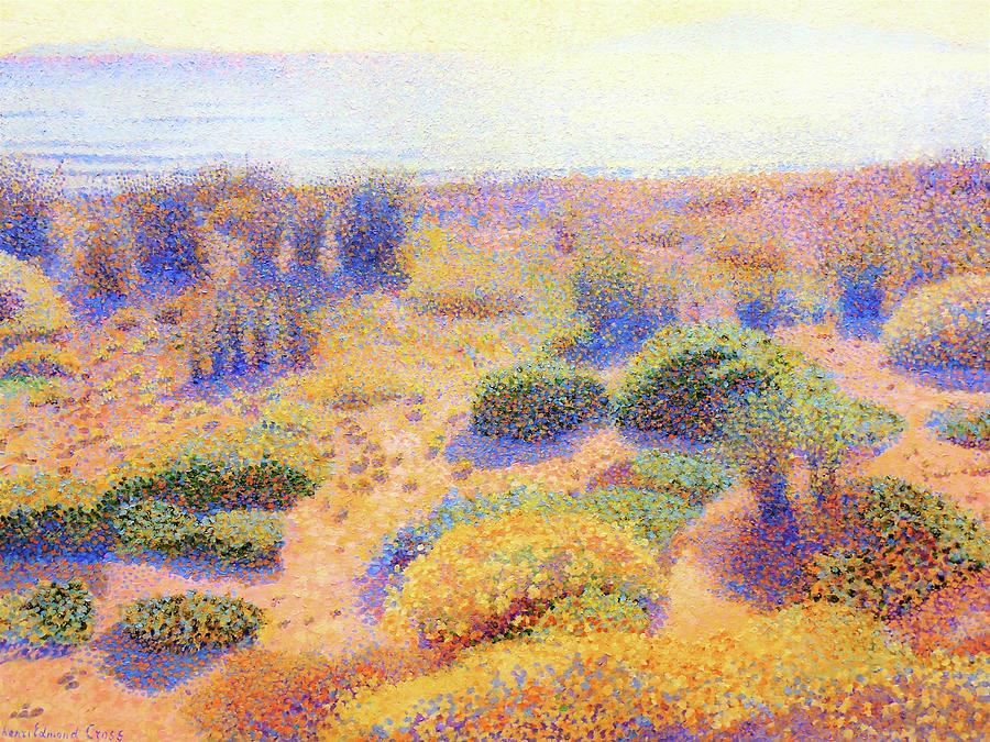 Henri Edmond Cross Painting - Beach Of Vignasse - Digital Remastered Edition by Henri Edmond Cross