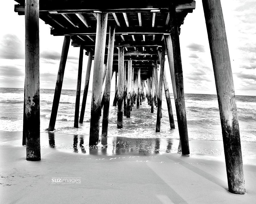 Beach Pier Stories by Susie Loechler
