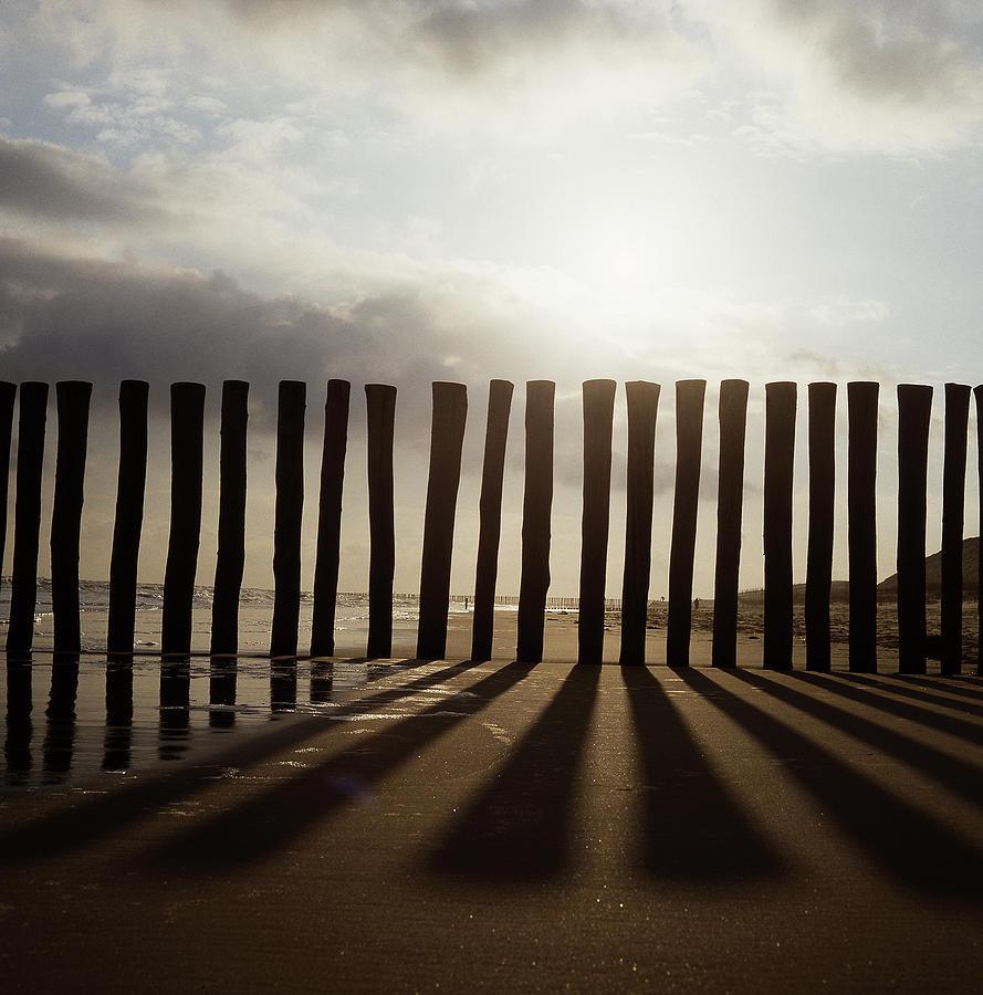 Beach poles by Anders Kustas