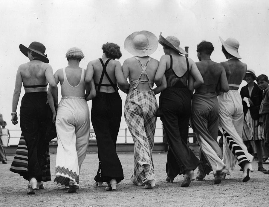 Beach Pyjamas Photograph by Hulton Archive