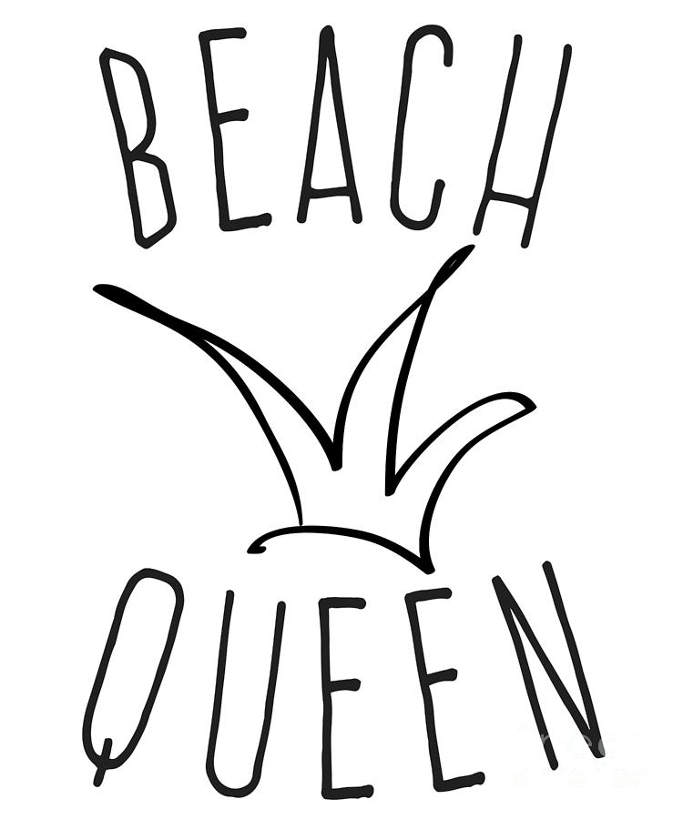 Beach Queen by Flippin Sweet Gear