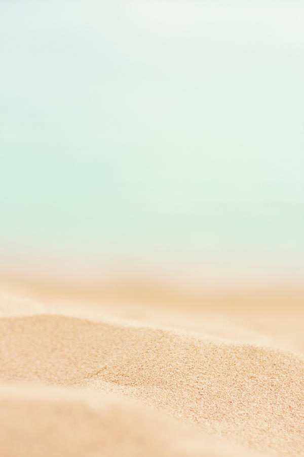 Beach Sand Photograph by Anneleven