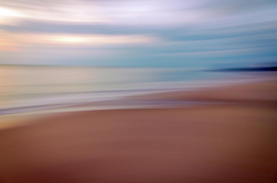 Beach Shoreline Abstract by R Scott Duncan