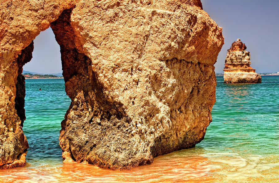 Beach Stone Photograph by Zu Sanchez Photography