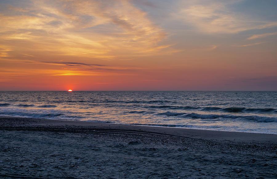 Beach Sunrise by David Palmer