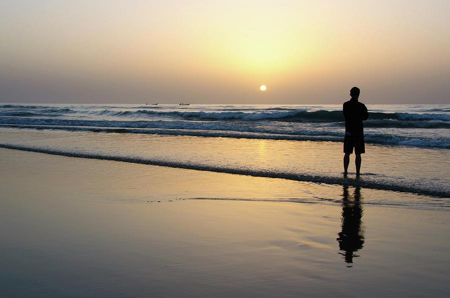 Beach Sunrise Photograph by Mario Eder