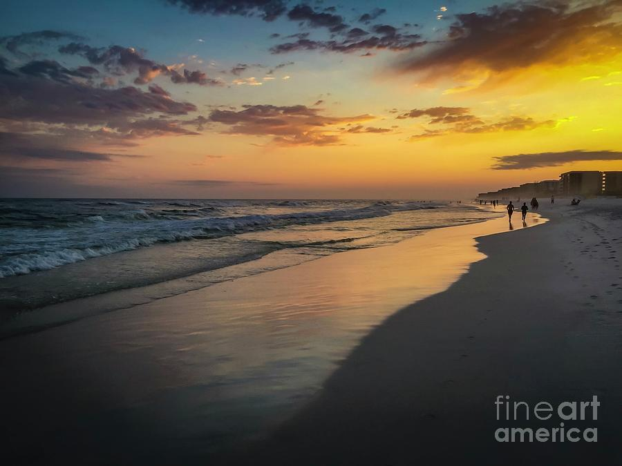 Beach Sunset by Bob Mintie