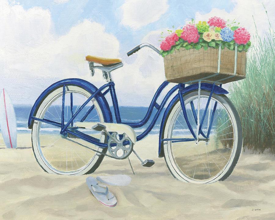 Bath Painting - Beach Time II by James Wiens