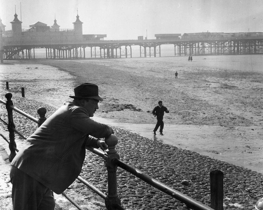 Beach Training Photograph by Bert Hardy