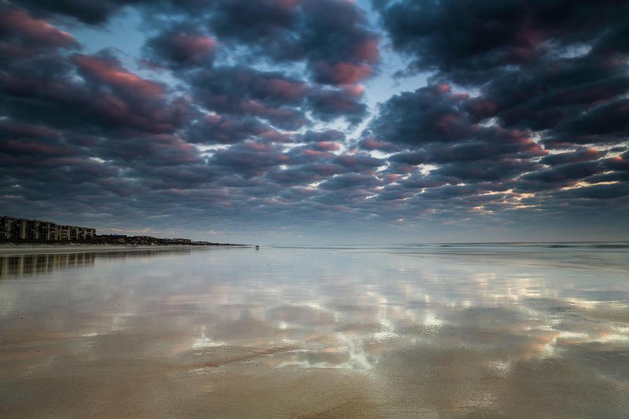 Beach Walk at Dawn by Fran Gallogly