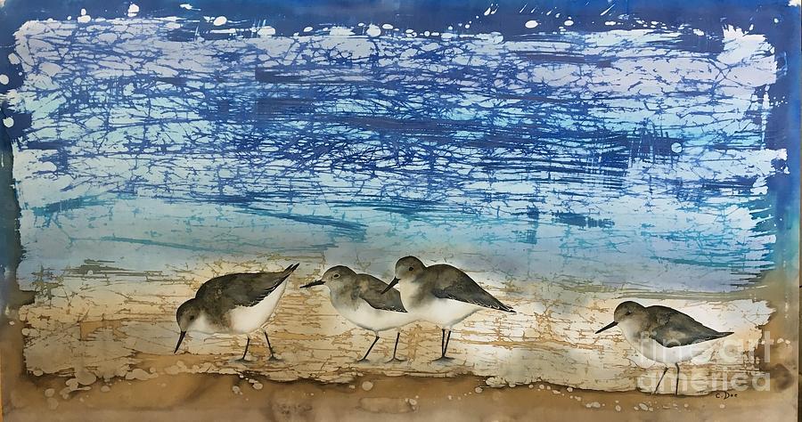 Beach Walk by Carolyn Doe