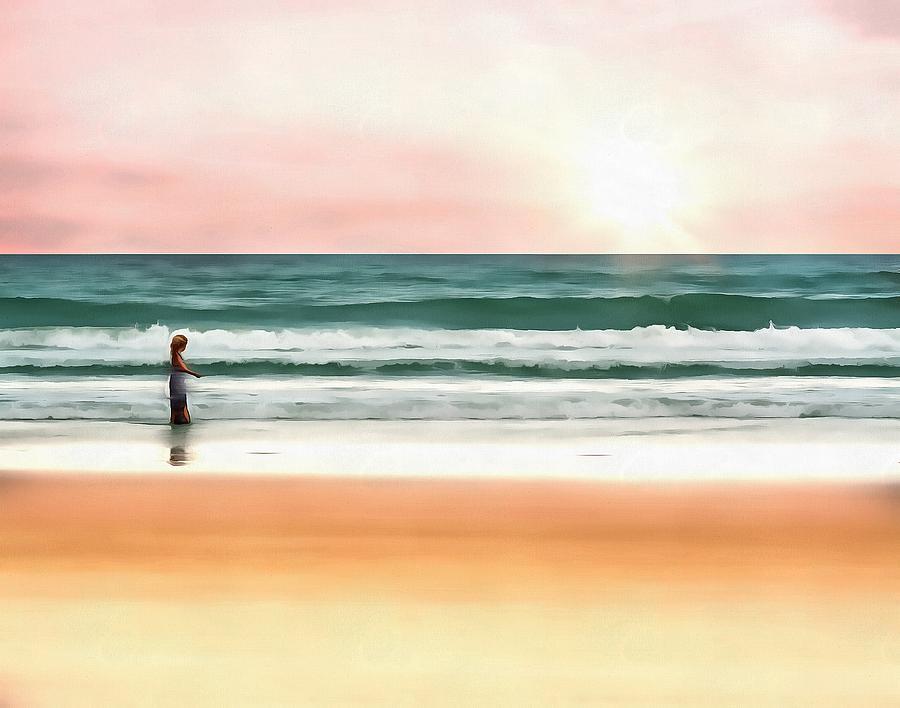 Beach Walk by Harry Warrick