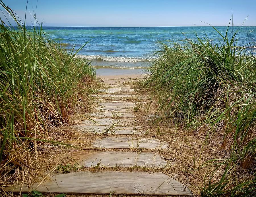 Beach Walk by Patti Raine
