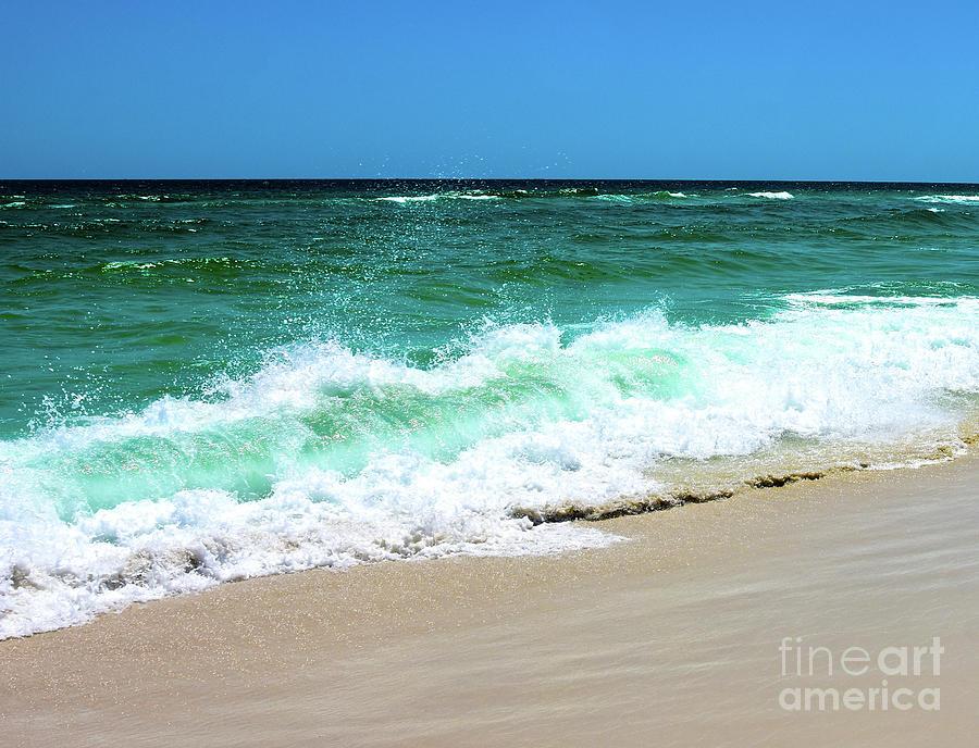 Beach Wave Splash by Christine Dekkers