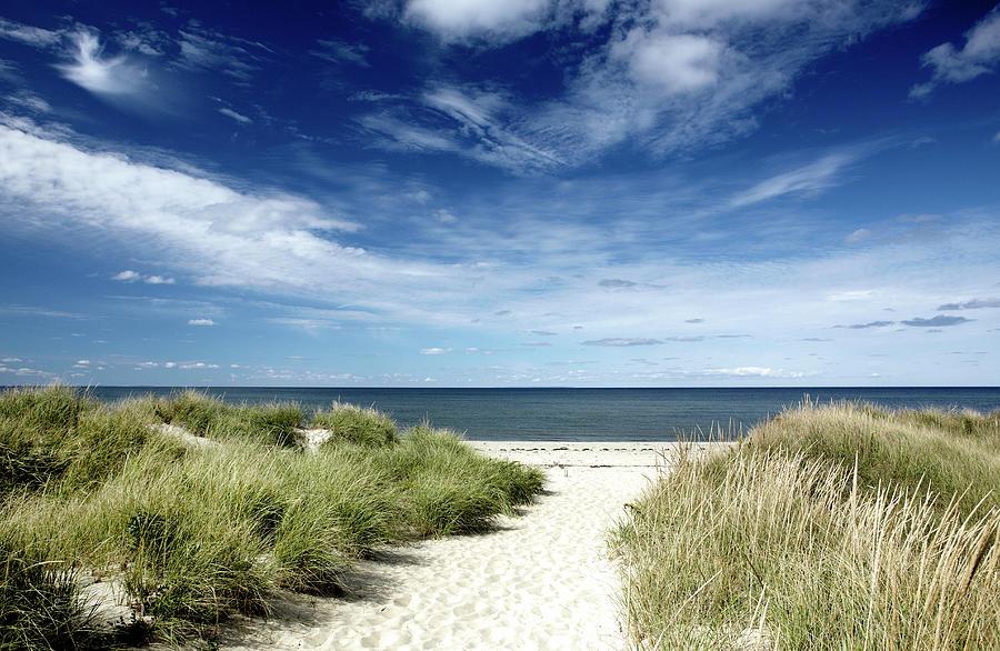 Beach, Welfleet Ma Photograph by Jeffrey Coolidge