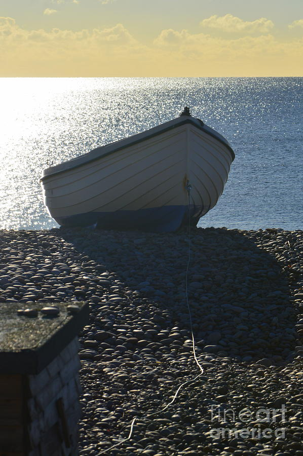 Boat Photograph - Beached by Andy Thompson