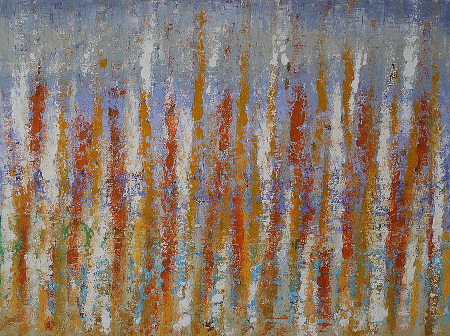 Beachgrass original painting by Sol Luckman