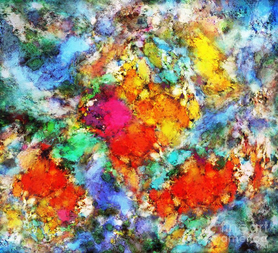 Pigments Digital Art - Beacon by Keith Mills