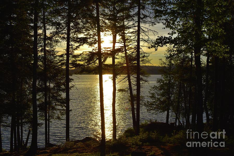 Beacon of Light Sunset by Christine Dekkers