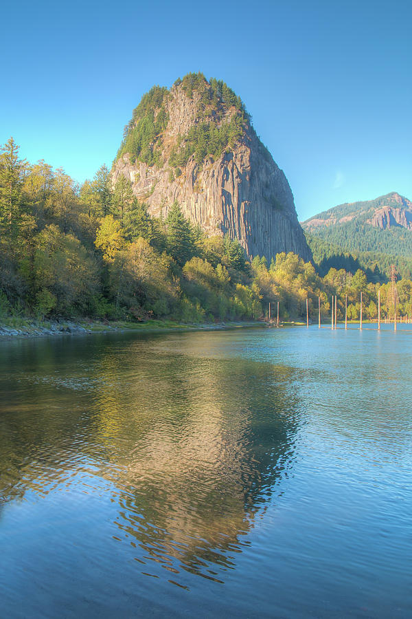 Beacon Rock - Vertical 01087 by Kristina Rinell