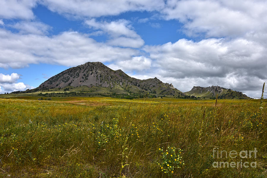 Bear Butte, South Dakota by Catherine Sherman