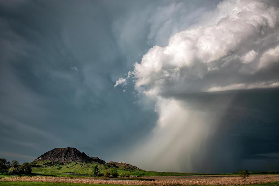 Bear Butte Storm by Denise Bush