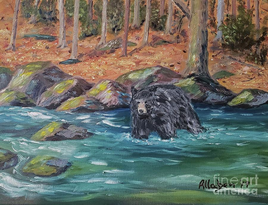 Bear Crossing by Stanton Allaben