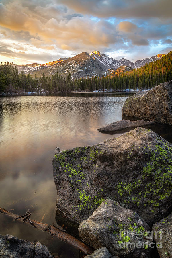 Bear Lake Sunrise in the Rocky Mountains by Ronda Kimbrow