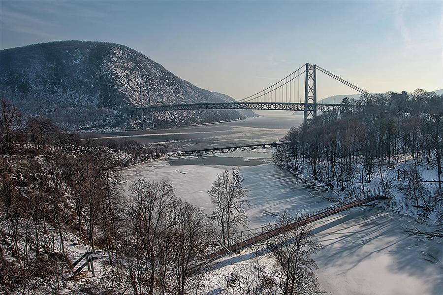 Bear Mountain Bridge Photograph by Michael Orso