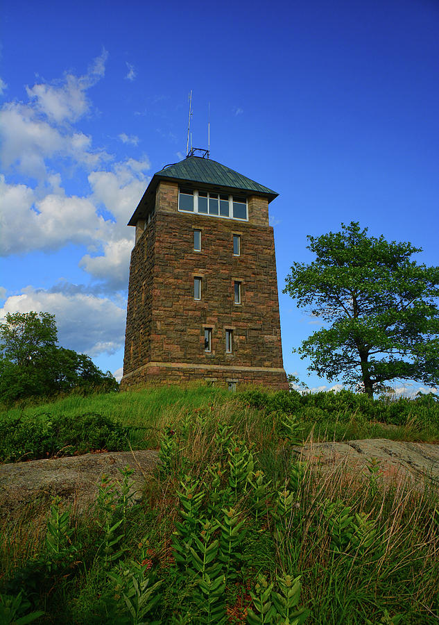 Bear Mountain's Perkins Memorial Tower by Raymond Salani III