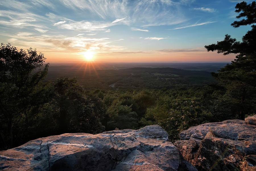 Bears Den Sunburst by Ryan Wyckoff