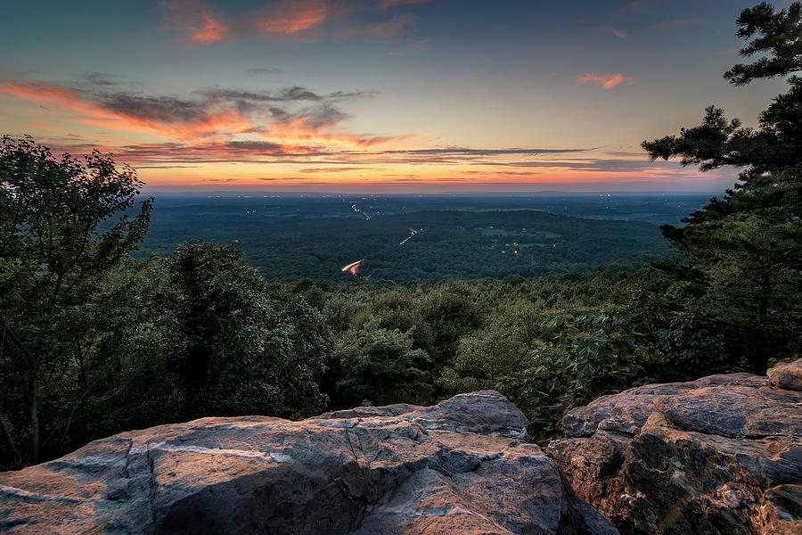 Bears Den Sunset by Ryan Wyckoff