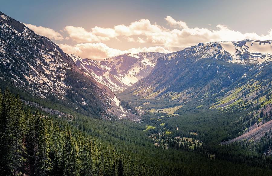 Beartooth Landscape by Dan Sproul
