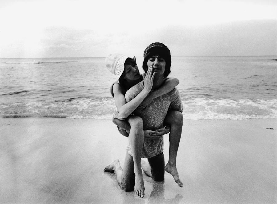 Beatle In Barbados Photograph by Express Newspapers