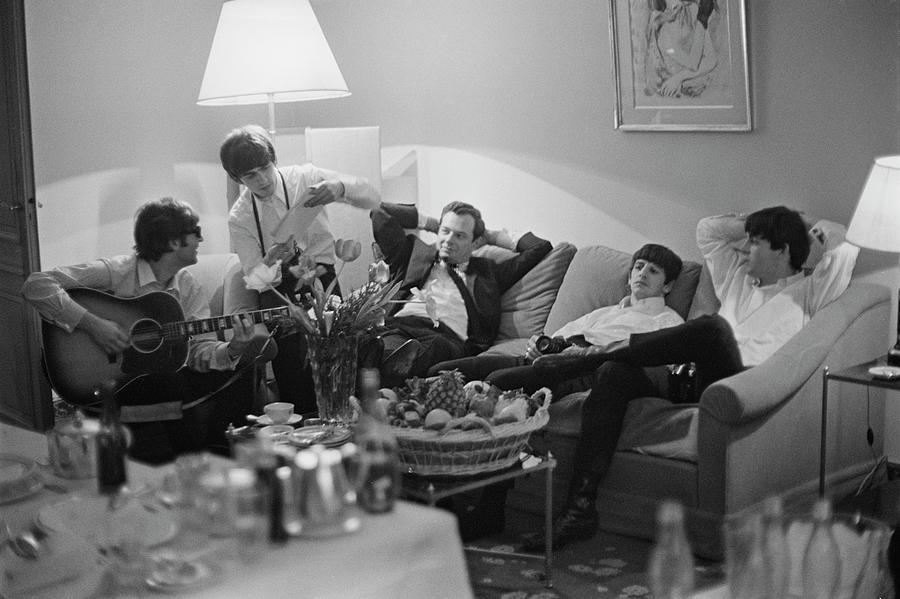 Beatles In Paris Photograph by Harry Benson
