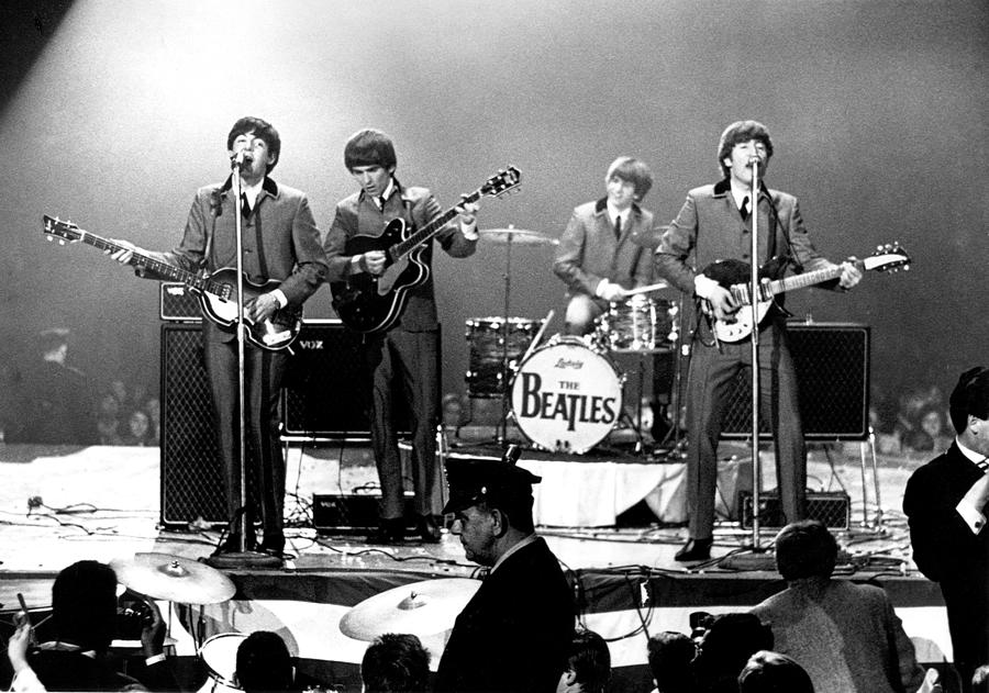 Rock Music Photograph - Beatles Perform In Washington, D.c by Michael Ochs Archives