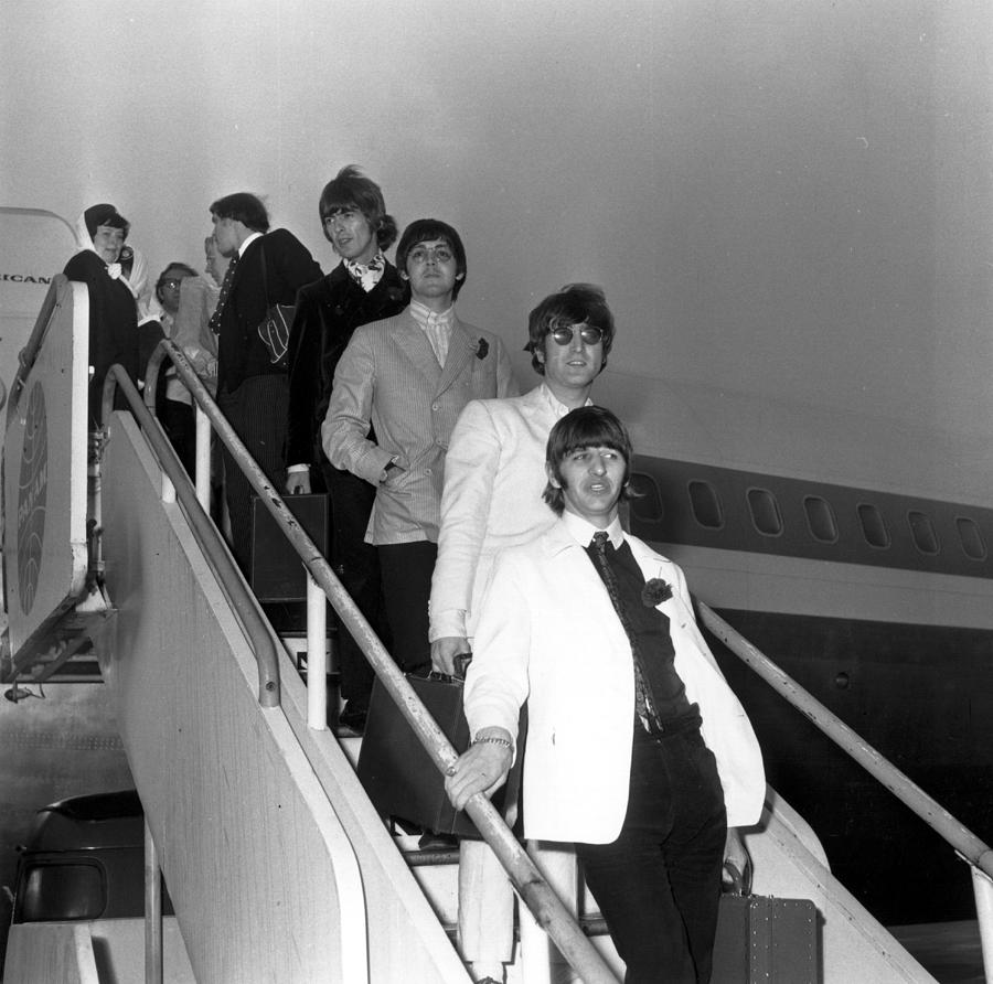 Beatles Return Photograph by Keystone