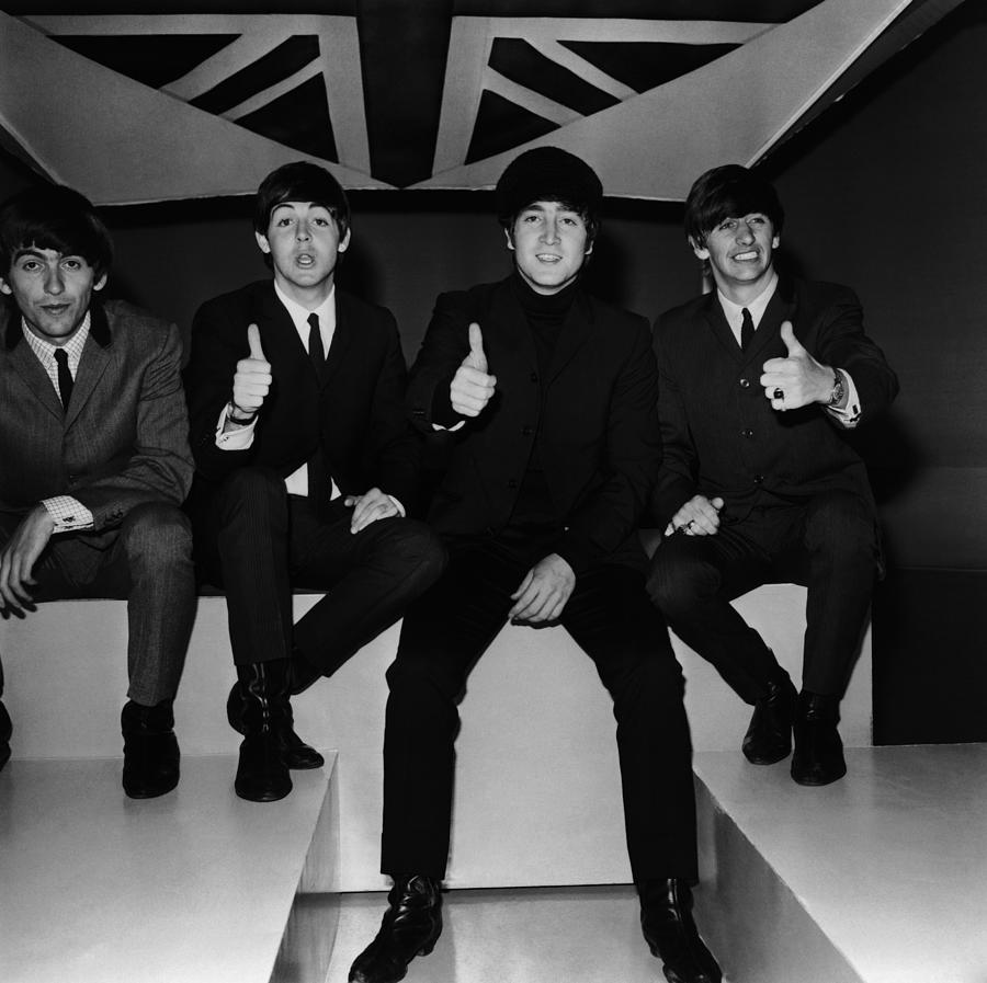 Beatles Thumbs Up Photograph by Jim Gray