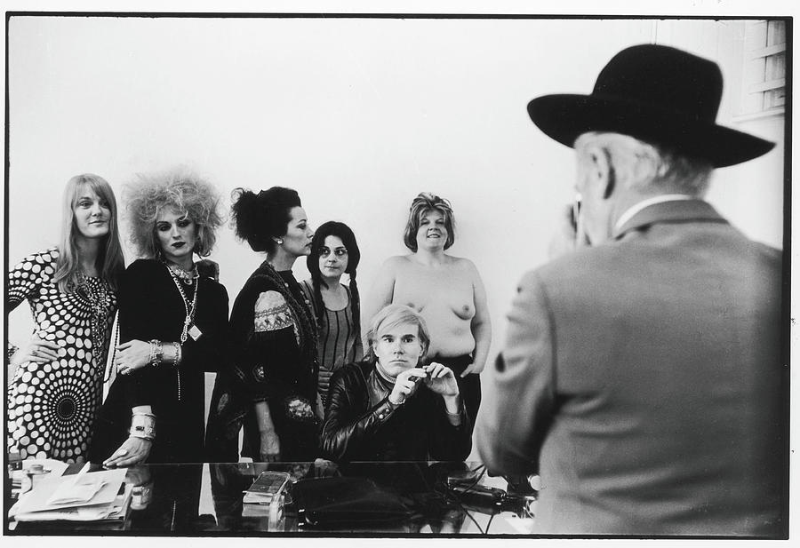 Beaton Photographs Warhol & Company Photograph by Fred W. McDarrah
