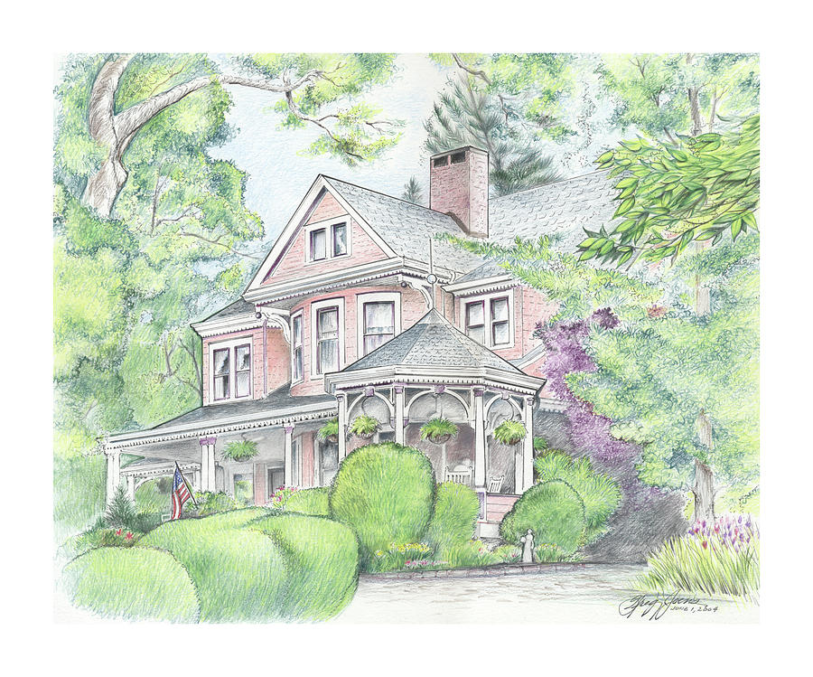 Beaufort House Drawing