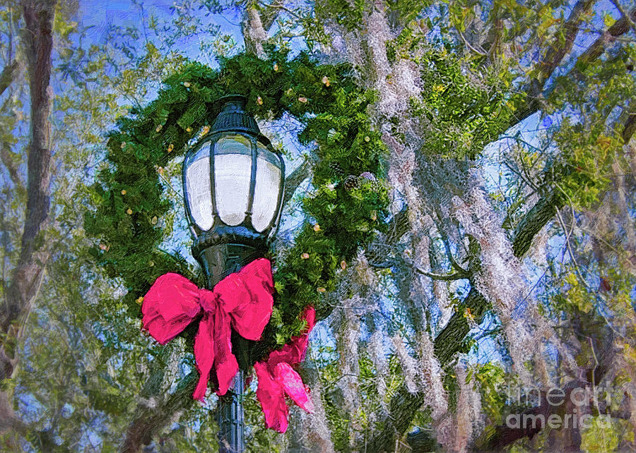 Christmas Photograph - Beaufort On Holiday, Classic Scene by Banyan Ranch Studios