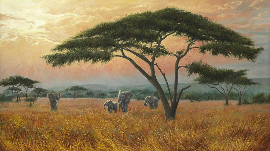 Beautiful Africa by Lucie Bilodeau