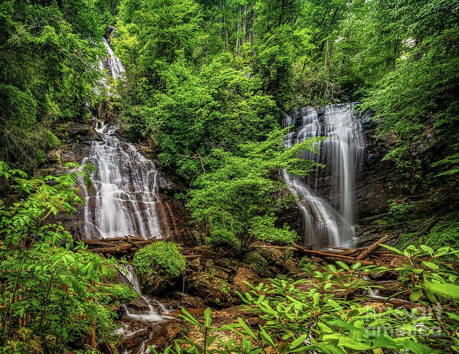 Beautiful Anna Rubby Falls by Nick Zelinsky