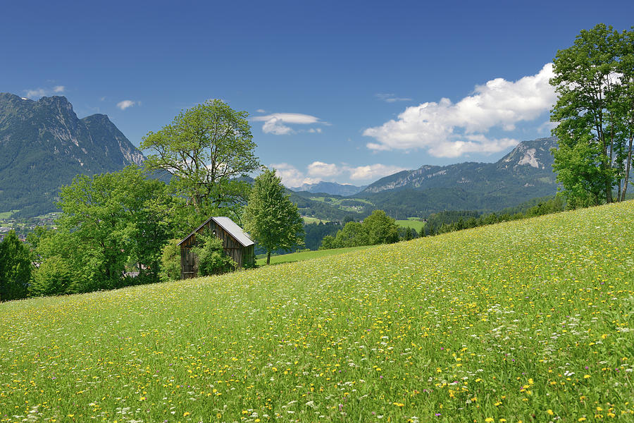 Beautiful Austria Panorama Xxxl Photograph by 4fr