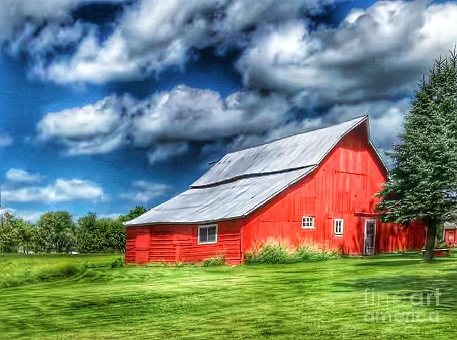 Beautiful Barn by Pamela Walrath
