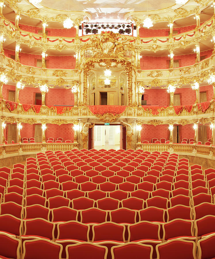Beautiful Baroque Theater Photograph by Sebastian-julian