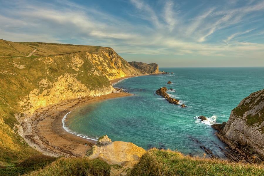 Beautiful Bay In Dorset Photograph by Peter Orr Photography