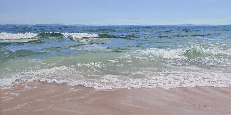 Beautiful Beach Day by Lea Novak