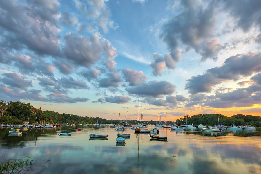 Beautiful Cape Cod Quissett Harbor  by Juergen Roth